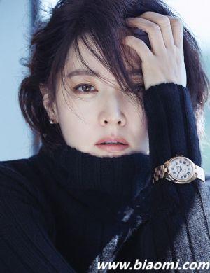 李英爱演绎卡地亚Cle de Cartier腕表大片