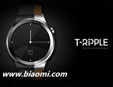 土曼T-RIPPLE智能手表三代现身,主打顶级配置
