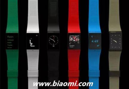诺基亚智能手表Nokia Watch曝光:扁平表盘