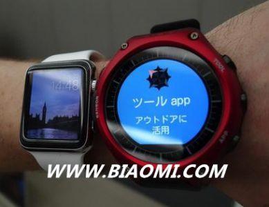 卡西欧推出首款智能手表 可待机一个月