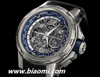 Richard Mille推出全新RM 63-02世界时区腕表