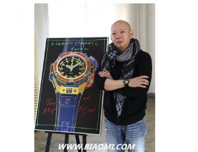宇舶表携手艺术家岳敏君发布经典融合猴王腕表