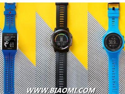 三大品牌运动腕表对决 Garmin最贵但体验不错