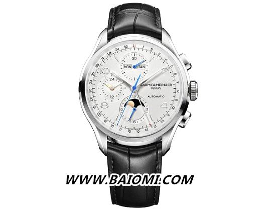 克里顿系列全日历计时码表 完美融合典雅设计与高级钟表工艺 名表赏析 第1张