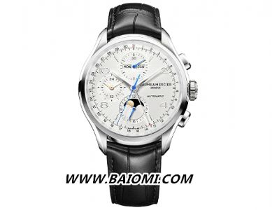 克里顿系列全日历计时码表 完美融合典雅设计与高级钟表工艺
