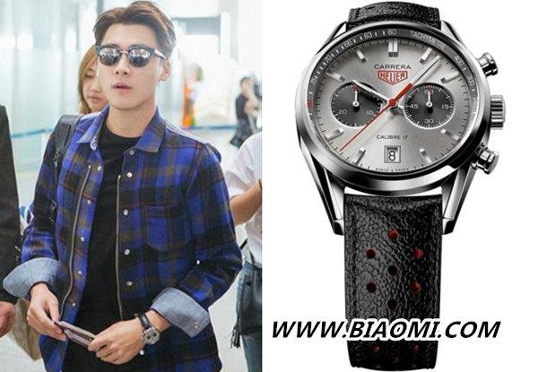 双十一购物指南——这几款明星同款手表很经典 热点动态 第1张