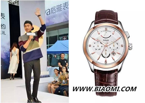 男人戴对手表很重要 刘恺威的手表长这样 热点动态 第2张
