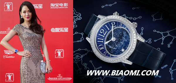 赵薇和陈乔恩都爱戴这款表 谁的气质更出众 热点动态 第1张