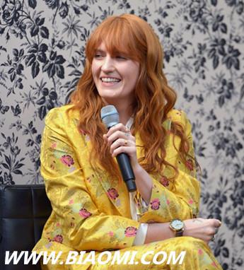 古驰全新腕表首饰代言人 Florence Welch 热点动态 第4张