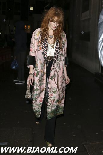 古驰全新腕表首饰代言人 Florence Welch 热点动态 第6张