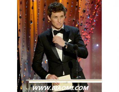 埃迪与妮可佩戴欧米茄腕表出席美国演员工会奖