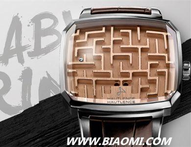 豪朗时(Hautlence) 推出生动有趣Labyrinth迷宫游戏手表
