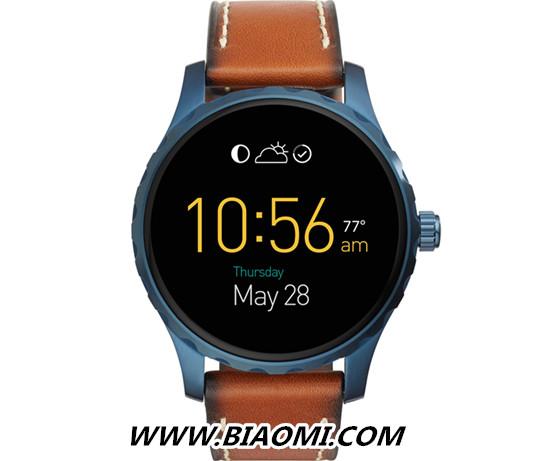 Fossil在Baselworld期间推出新款Android Wear 智能手表 智能手表 第4张