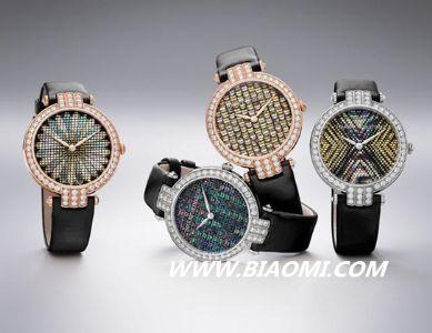 日式技艺的完美体现 Harry Winston钻石腕表