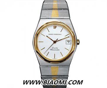 GP芝柏复刻版「Laureato」腕表——将优雅传承的经典表款