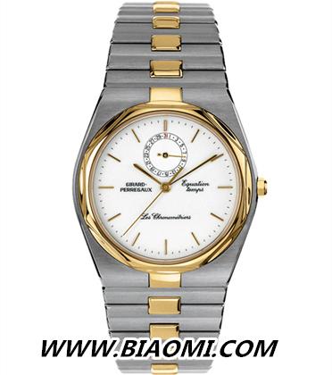 GP芝柏复刻版「Laureato」腕表——将优雅传承的经典表款 名表赏析 第2张