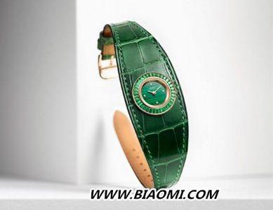爱马仕推出Faubourg Manchette Joaillerie皮革手镯腕表