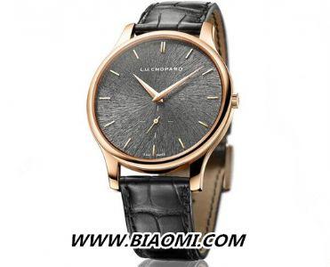 男士手表简单才时尚——萧邦简约表款分享