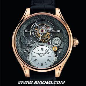 万宝龙Montblanc推出110周年纪念版腕表 表盘中蛇形图案成亮点