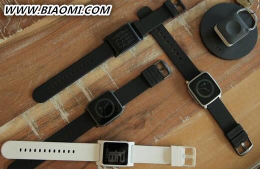 Pebble两款手表可追踪心率 智能纽扣内置GPS 智能手表 第1张