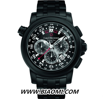 细腻酷黑腕表——专为优雅男士量身定做之作 名表赏析 第3张