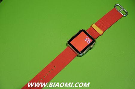 Apple Watch奥运特别系列表带 中国专属是什么颜色?