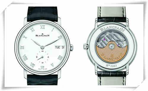 """宝珀Blancpain Villeret经典系列首次迎来""""星期 - 日期""""双历显示腕表"""