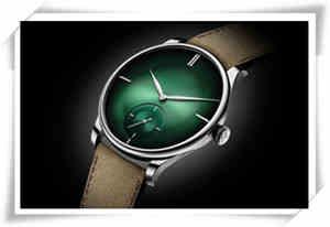 珍贵的宇宙绿:H. MOSER & CIE. 亨利慕时冒险者小秒针XL PURITY腕表