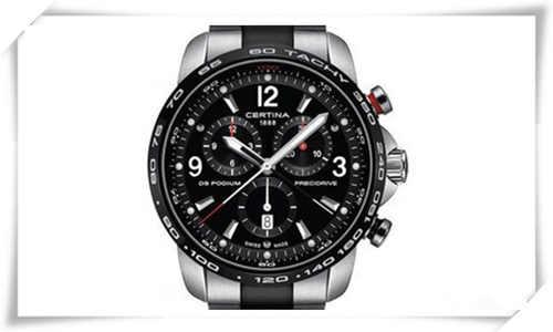 黑色魅影 黑色手表适合大众人士佩戴