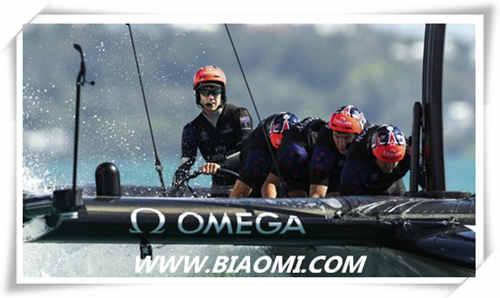 欧米茄助力新西兰酋长队 推出新款超霸和海马