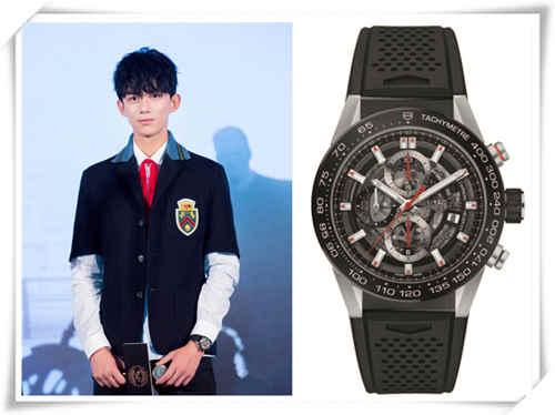 童星都不得了了 TFboys 吴磊都戴好几万的手表