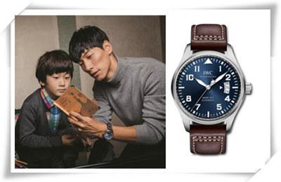 《爸爸去哪儿》之过去的爸爸都戴什么表?