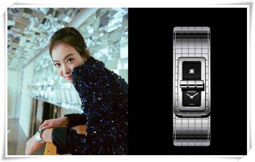这款表还是这么火 宋茜&香奈儿CODE COCO腕表