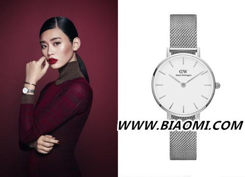 适合年轻人的品牌 奚梦瑶为DW腕表拍摄全新假日系列广告  热点动态 第1张