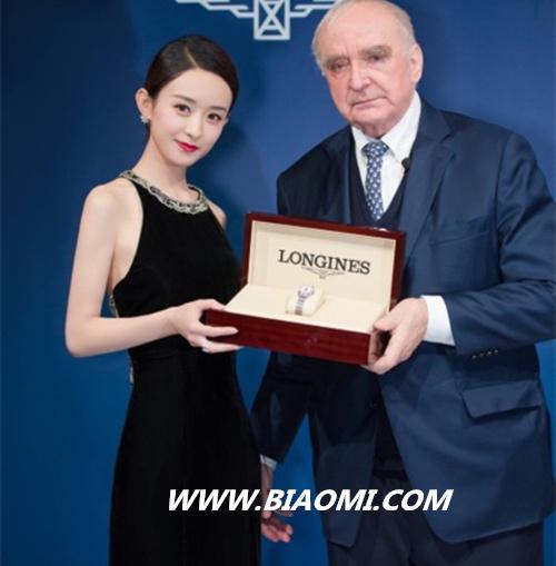 浪琴又收获一枚高颜值形象大使 赵丽颖正式上线 名表赏析 第2张