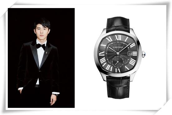 MAHB年度先生盛典  刘昊然黑色西装搭配卡地亚腕表帅气现身