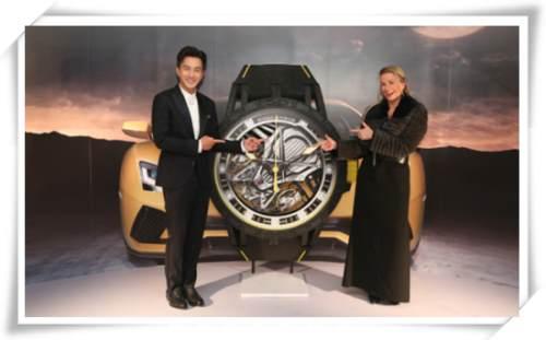 罗杰杜彼x兰博基尼 新品上市发布会上迎来段奕宏与刘恺威两位大叔