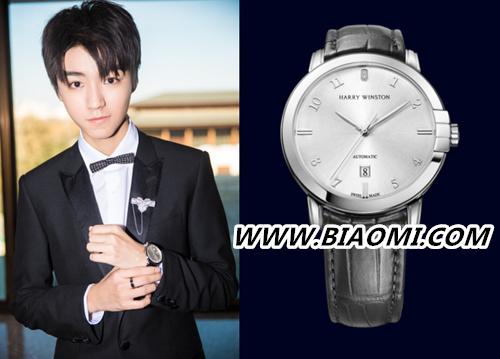 精致优雅的西装王子范儿 看正能量偶像王俊凯的腕间配饰 热点动态 第1张