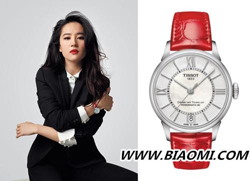 腕表搭配攻略 如何戴出如刘亦菲般的女神范儿 热点动态 第2张