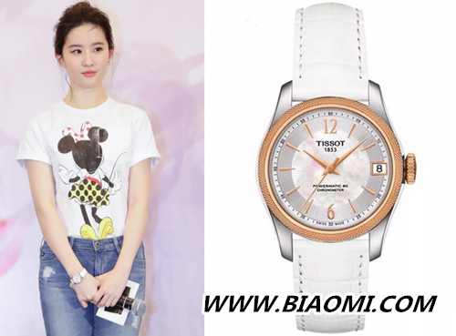 腕表搭配攻略 如何戴出如刘亦菲般的女神范儿 热点动态 第4张