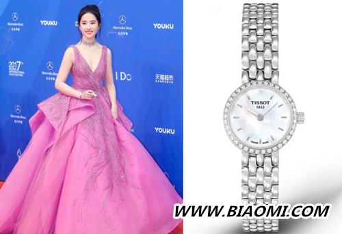 腕表搭配攻略 如何戴出如刘亦菲般的女神范儿 热点动态 第3张