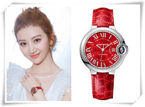 新春中国红——景甜,马思纯,佟丽娅等众星为卡地亚限定腕表打call