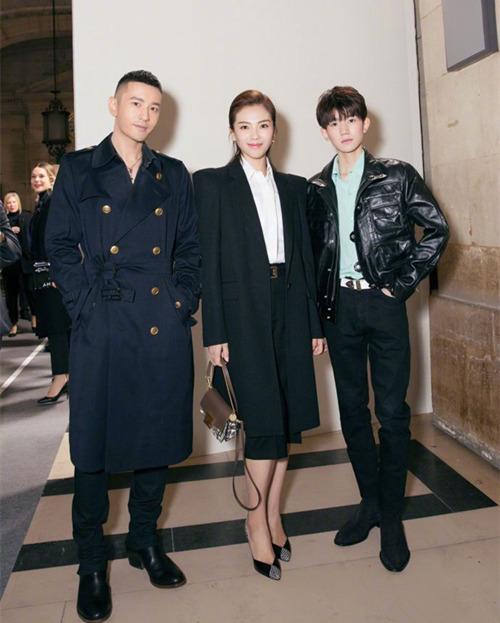 巴黎时装周 黄晓明,刘涛,王源均走出了时尚帅气feel 热点动态 第1张