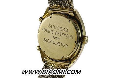"""它是最贵的""""泰格豪雅""""表复刻版 如今也要高价拍出 手表百科 第3张"""