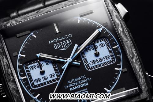 TAG Heuer泰格豪雅与Bamford Watch Department合作,全新演绎摩纳哥系列 名表赏析 第3张