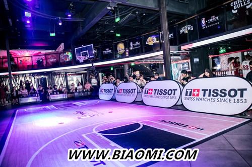 天梭速驰系列NBA球队款腕表点亮京城夏夜 热点动态 第2张