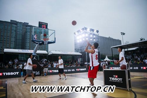 天梭速驰系列NBA球队款腕表点亮京城夏夜 行业资讯 第14张