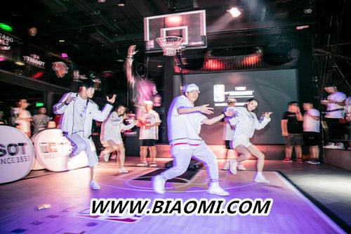 天梭速驰系列NBA球队款腕表点亮京城夏夜 热点动态 第5张
