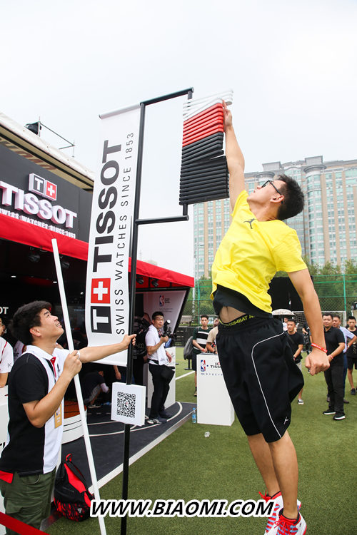 天梭速驰系列NBA球队款腕表点亮京城夏夜 热点动态 第11张