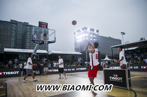 天梭速驰系列NBA球队款腕表点亮京城夏夜 热点动态 第14张